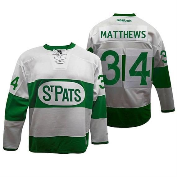 a981656e4cb Reworked Toronto Maple Leafs Auston Matthews 34 St Patricks