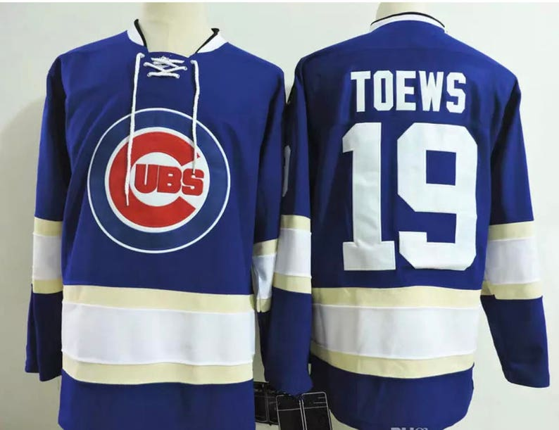 Reworked Chicago Cubs Chicago Blackhawks Custom Jonathan Toews  803b6605d72