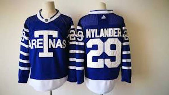 finest selection 19dbe 2f232 Reworked Toronto Maple Leafs William Nylander #29 T ARENAS Custom Hockey  Jersey, William Nylander Jersey, Toronto Maple Leafs Jersey Blue