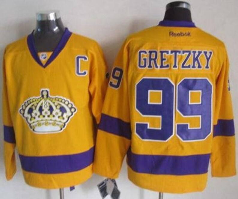 3f05b25f8 90s Reworked Los Angeles Kings LA Kings Wayne Gretzky 99
