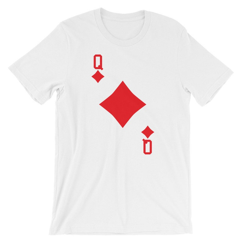 queen of diamonds playing card halloween group costume  etsy