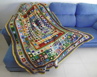 Big size Crochet Blanket