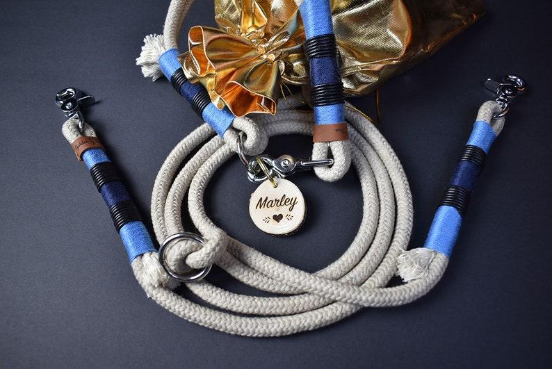 Louis Set-Dog Leash /& Necklace