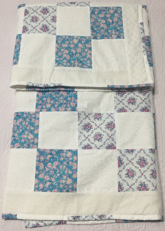 Old fashion baby quilt etsy