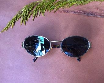 Vogart par Police lunettes de soleil ovale Vintage des années 90 - lunettes  de soleil Original ff3d973a8b80