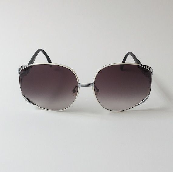 Christian Dior Vintage Oversized Oval Sunglasses W