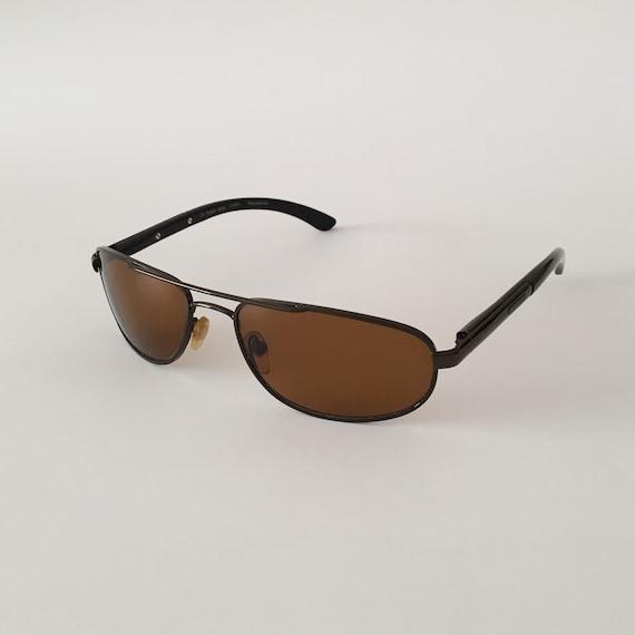 FLASH Vintage Aviator Sunglasses 80s - Designer S… - image 2