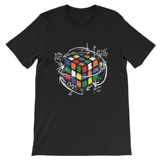 Rubiks Cube Instructions Unisex T Shirt Etsy