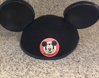24234d23cef60 Vintage Mickey Mouse Hat   Mickey Mouse Ears