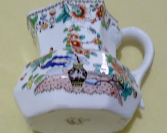 An Antique Llanelly Pottery Bombay Japan Jug