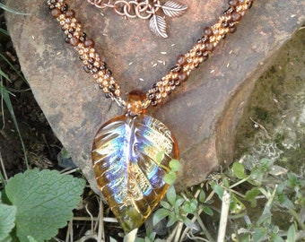 The Cottonwoods Kumihimo Necklace