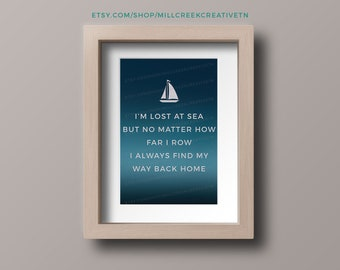 Lost at Sea Quote
