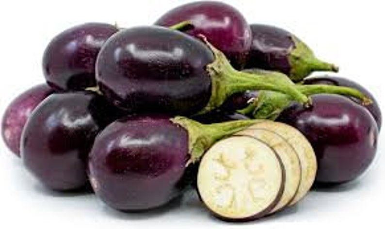 Fresh Indian Eggplant-3 lbs-Standard shipping included. image 0