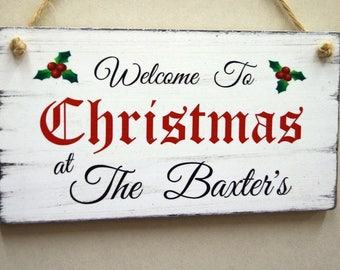 Christmas Signs.Merry Christmas Sign Etsy