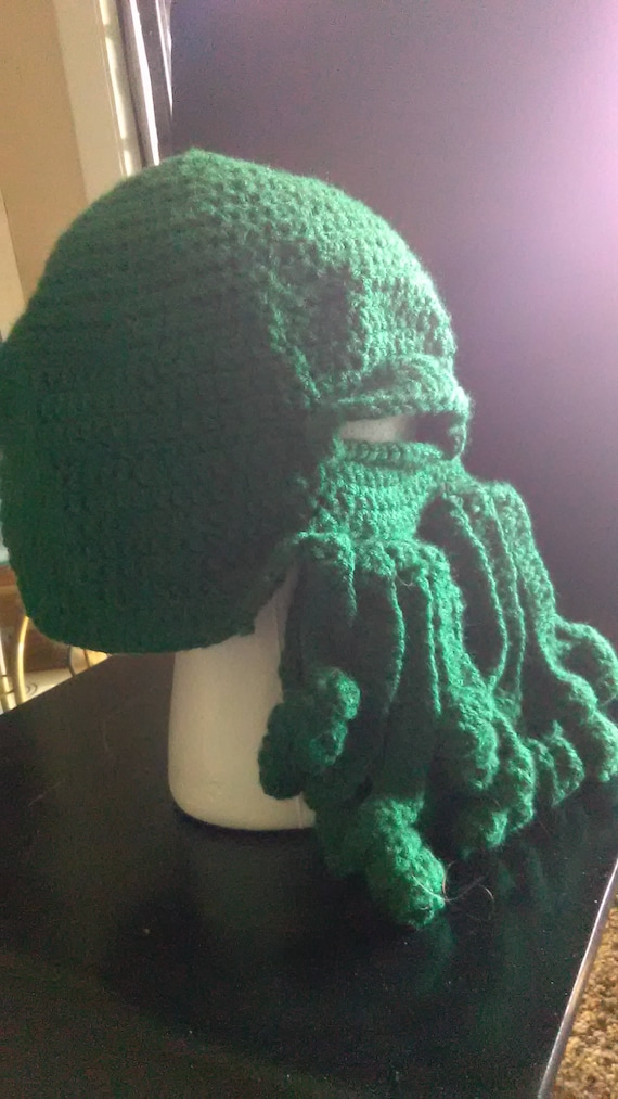 3dbbd14ca21 Cthulhu hat dark green