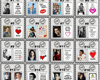 Dylan O'Brien Acrylic Keychain - Choose Your Favorite From 16 Different Designs Shirtless