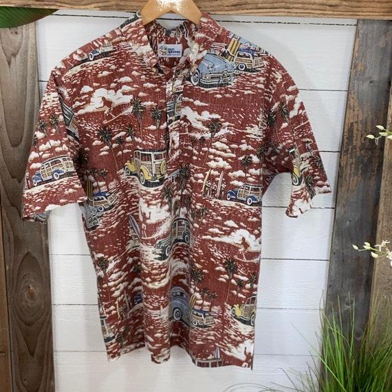 Vintage Hawaiian Aloha Shirt  Reyn Spooner