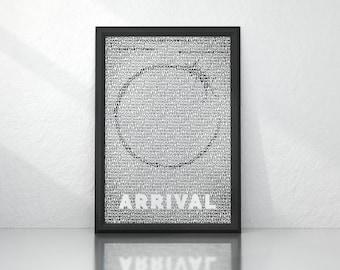 Arrival (2016) - Minimalist Movie Poster