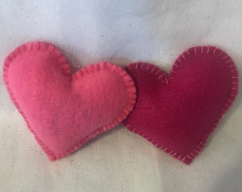 Heart-Shaped Organic Catnip Toy