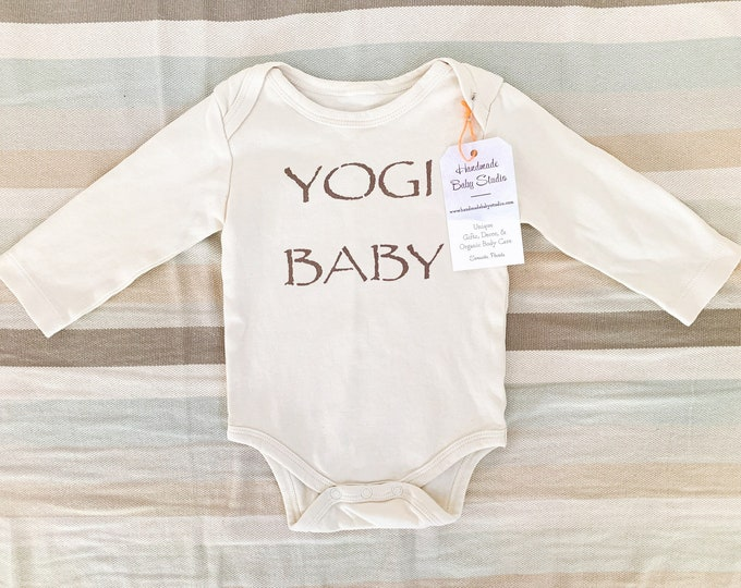 Featured listing image: Baby Bodysuit / Organic Cotton / Yogi Baby