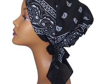Women Girl BOHO Retro Paisley 100/% Genuine Silk Scarf Wrap bandana head band