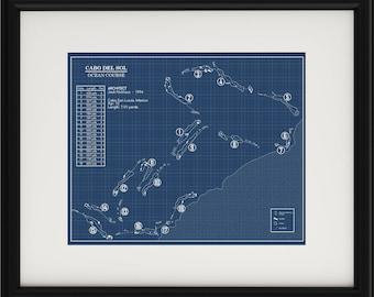 Cabo del sol Ocean Course Blueprint (Print)