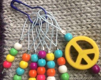 Custom Knitting Stitch Marker Set