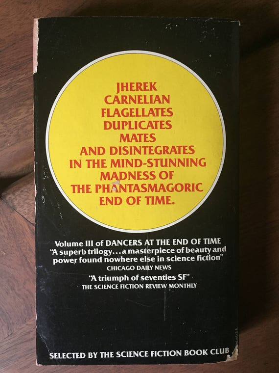 Vintage The End of All Songs (Dancers at the End of Time, Book 3), Michael  Moorcock, 1978 Avon printing, used books
