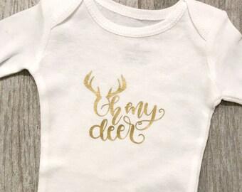 Oh My Deer onesie