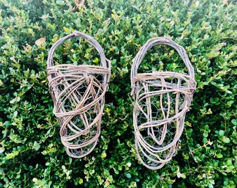 Set of Small Hanging Baskets