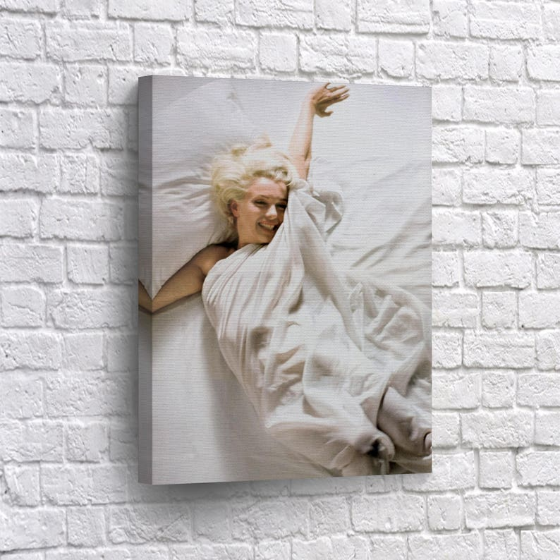 Marilyn Monroe Wall Art Canvas Decor Marilyn Monroe Nude