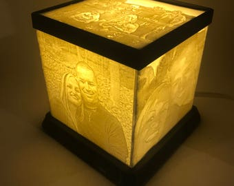 Lithophane Cube Light