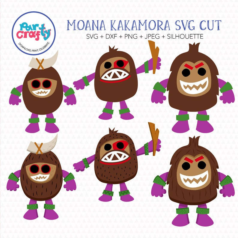 Moana Kakamora Svg Cute Kakamora Svg Disney Princess Moana Etsy