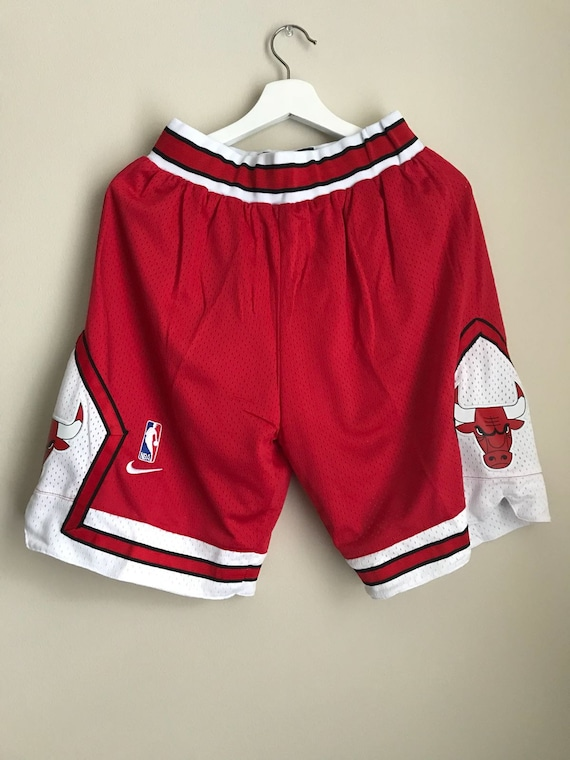 Basketball NBA cousu pantalon Bulls homme Chicago rouge Short Stretch pour w5vTxI7q7