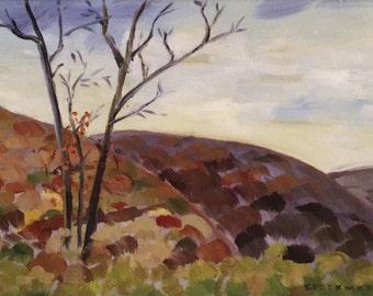 Kittatinny Ridge View with Bittersweet