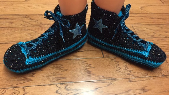 shoes inspired 455 Women 10 black sneaker custom converse 8 slippers high converse slippers converse blue tennis converse top bling Converse 4IRdqR