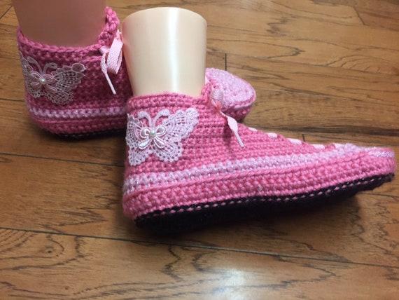 papillon tennis chaussons chaussons Womens7 de Chaussure 9 sport chaussures chaussons papillon baskets crochet au sneaker papillon de rose 340 chaussons 0vwwq5zx