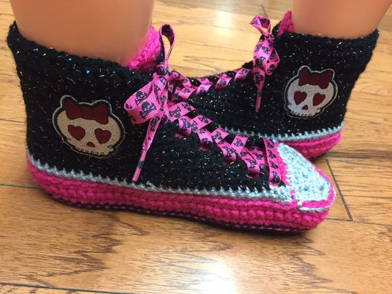 skull slippers pink skull tennis top Womens sneakers pink List sneakers slippers sneaker skull 313 skull shoe Crocheted slippers 10 high 8 pqAXwx7