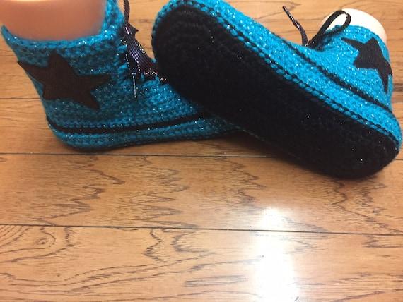 10 de tennis 8 161 converse chaussons pantoufles Bonneterie sneaker chaussons hauts sommets chaussure bling haut converse converse haut pantoufles turquoise Fw5xUC