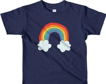 92793de849 Toddler Rainbow Shirt / Kids Rainbow Shirt / Boys or Girls / Rainbow  Birthday Party Shirt / Pride Shirt / Sizes 2yr to 6yr