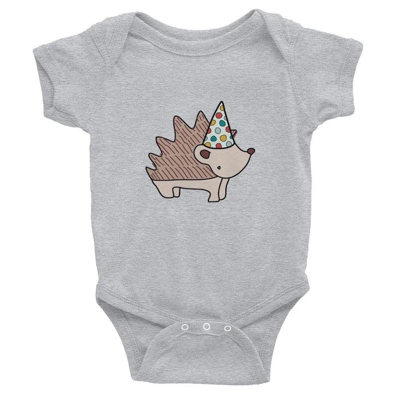 5dab734c7de0 Hedgehog Onesie Hedgehog Baby Shower Gift First Birthday