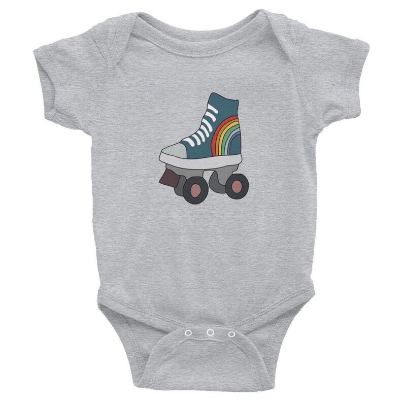 énorme réduction f1e92 a003c Patin à roulettes grenouillère - Body bébé - coton grenouillère Roller -  Baby Shower Gift - mignon Roller Derby bébé cadeau - bébé fille - bébé  garçon