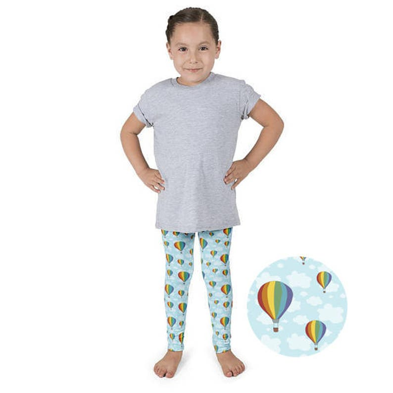 848a6e526cfb91 Kids Leggings Balloon Leggings Rainbow Toddler Leggings Hot | Etsy