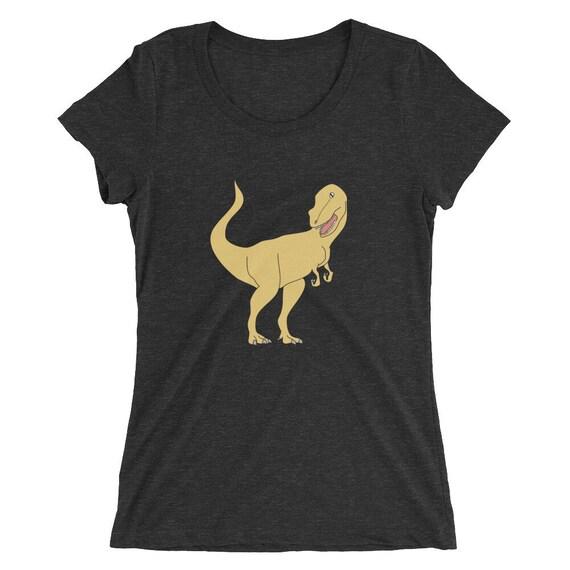 Womens T Rex Dinosaur T-shirt Cute Ladies Tyrannosaurus Rex  95a662643a