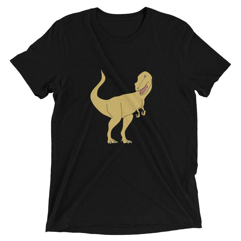 56f71a58 Mens T-Rex Dinosaur T-shirt Cute Unisex Dino Shirt Unisex | Etsy