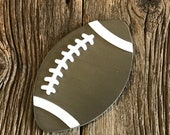 Football Interchangeable Interchangeable Attachment for welcome sign, home sign, interchangeable, painted wood cutout with velcro