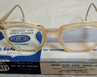 010264e178 Old safety glasses