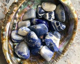 Sodalite Tumbled Stone Chakra