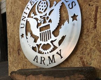 United States Army VIETNAM Veteran Retro Military Aluminum Sign 9x12