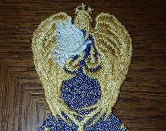 Free Standing Lace Peace Angel